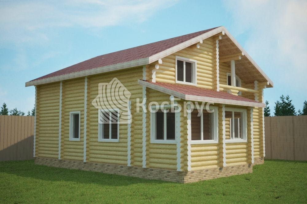 Проект дома 10.0 х 12.0 м