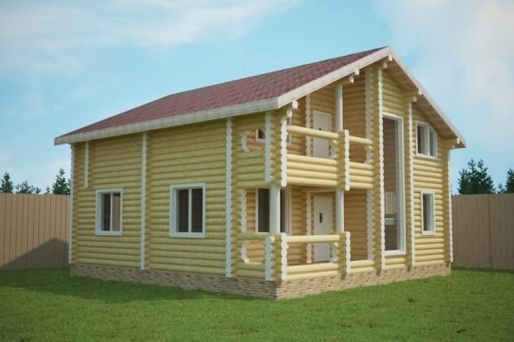 Проект дома 10.0 х 12.0 м «Волоколамск»