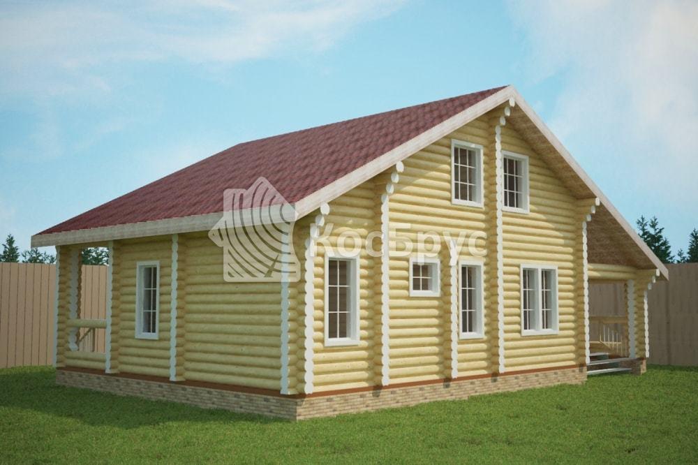 Проект дома 10.0х15.0 м