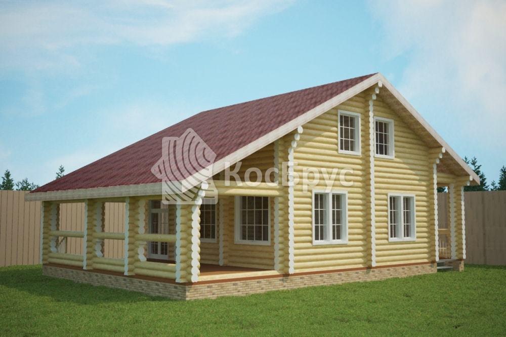 Проект дома 10.0х15.0 м «Судога»