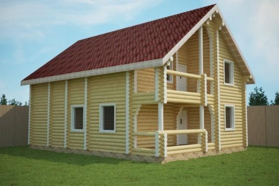 Проект дома 10.5х13.5 м «Лобня»