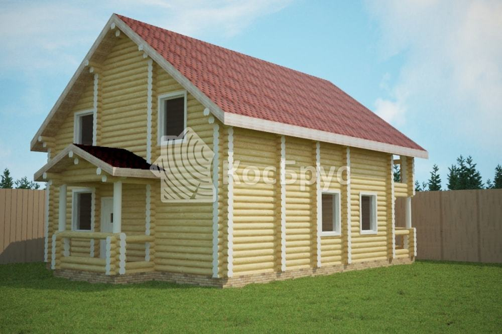 Проект дома 10.5х13.5 м