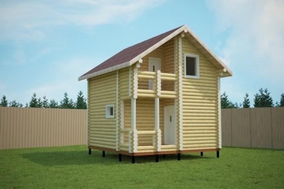 Проект дома 5.6х5.6 м «Бортнево»