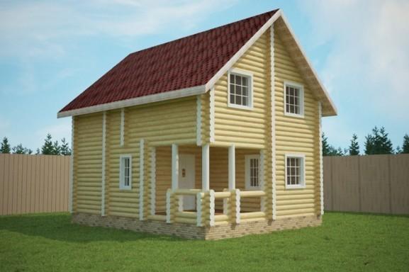 Проект дома 6.5х8.0 м «Глебово»