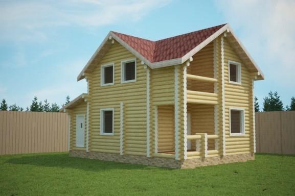 Проект дома 6.6х9.8 м «Фряново»