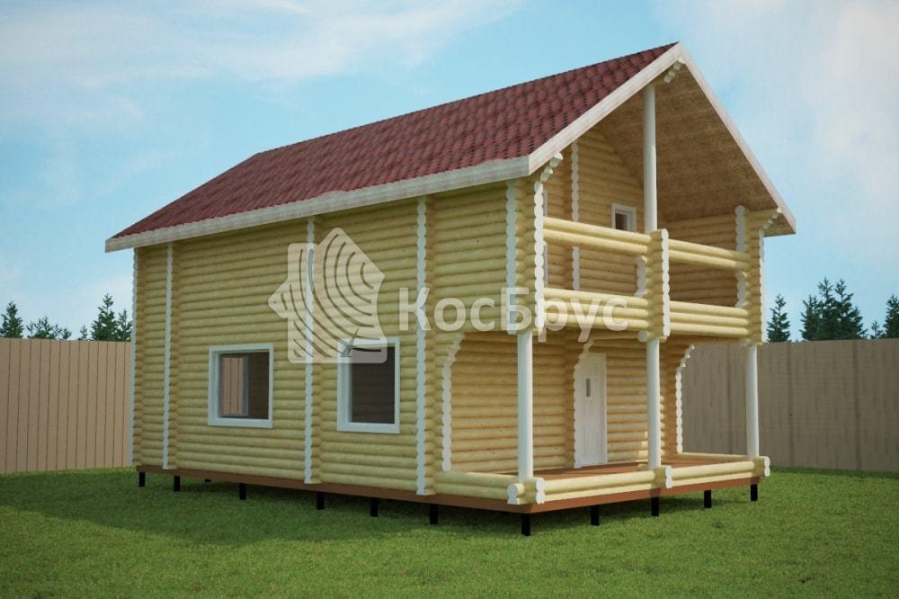 Проект дома 7.0х11.5 м «Павловский Посад»
