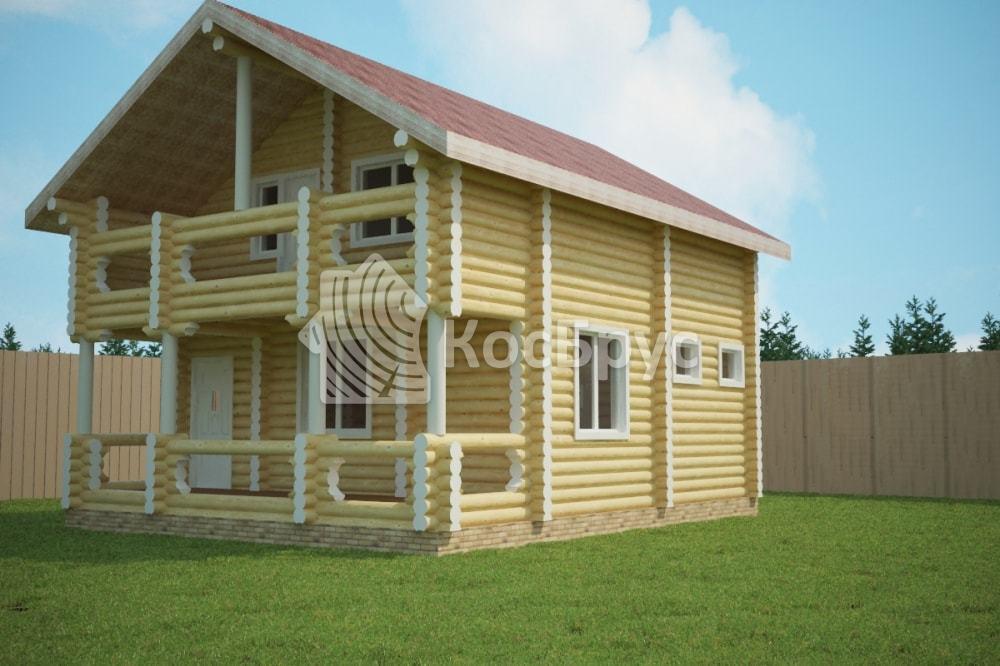 Проект дома 7.0х9.0 м