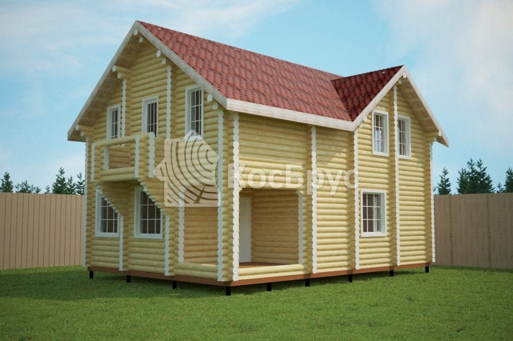 Проект дома 7.3х10.5 м «Малинники»
