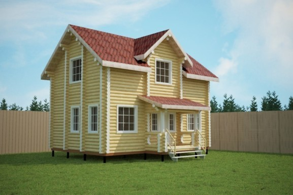 Проект дома 6.0х9.0 м «Братск»