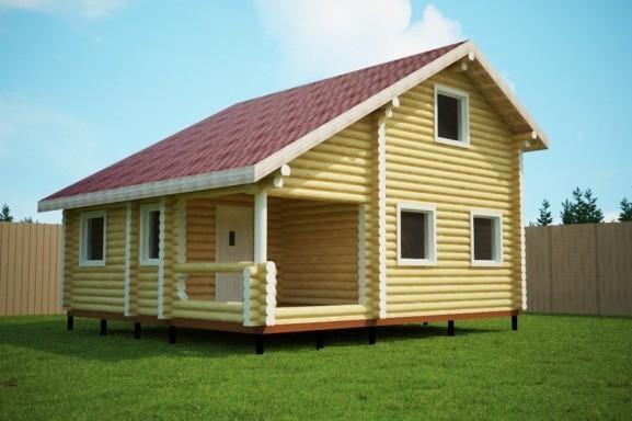 Проект дома 7.6х8.4 м «Кубинка»