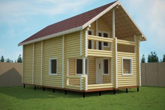 Проект дома 9.0 х 11.5 м «Апрелевка»
