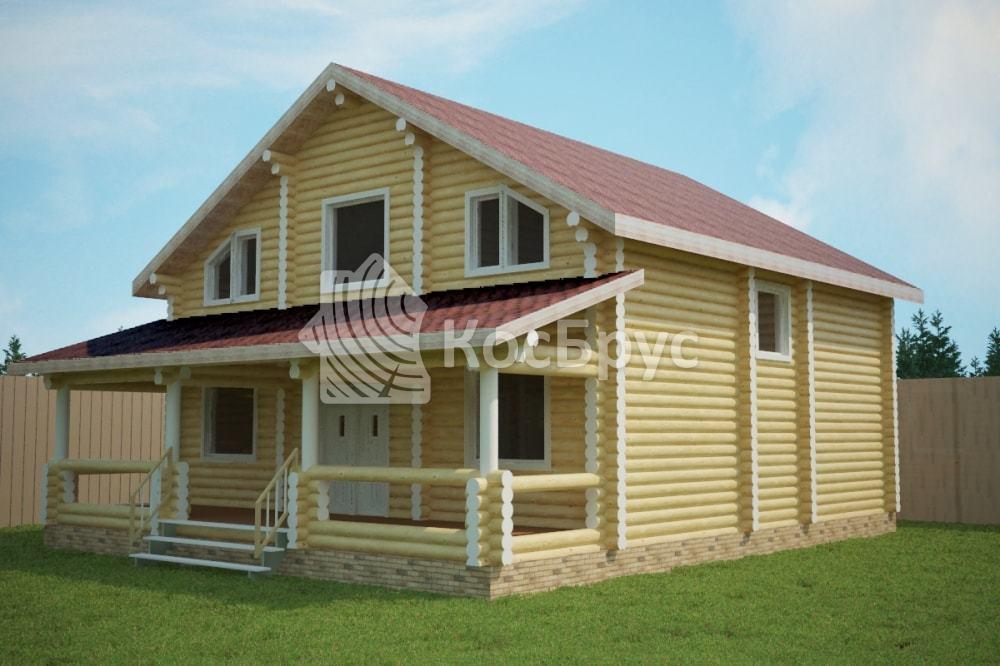 Проект дома 9.0х10.5 м