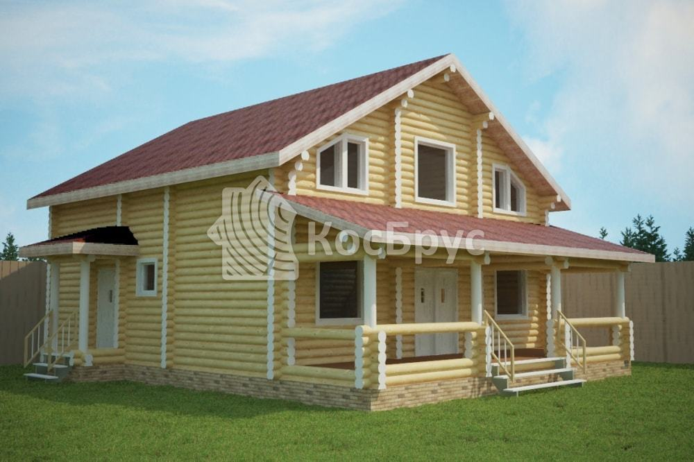 Проект дома 9.0х10.5 м «Раменское»