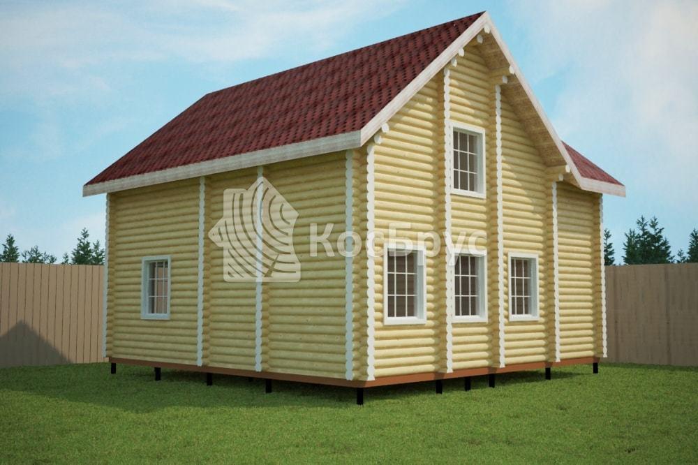 Проект дома 9.5 х 9.5 м