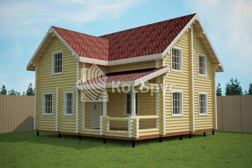 Проект дома 9.5 х 9.5 м «Алешково»