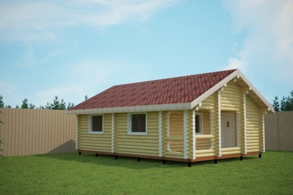 Проект одноэтажного дома 7.0х10.0 м «Суздаль»
