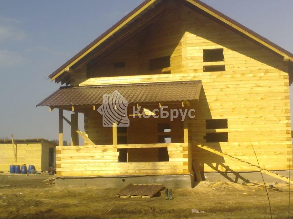 Строительство загородного дома из профилированного бруса в Можайском районе МО