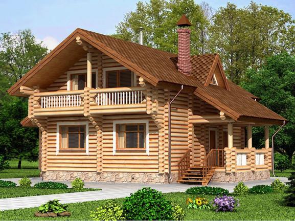 Проект дома с баней 10.0х13.2 м 1.5 эт. 145 м.кв